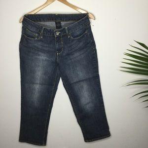 Blue Capris jeans